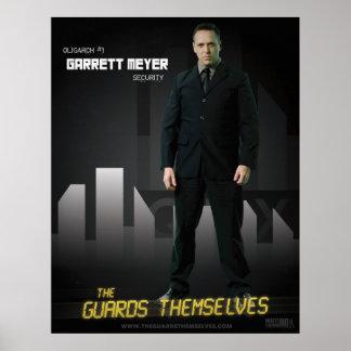 Het Poster van het Karakter van Meyer van Garrett