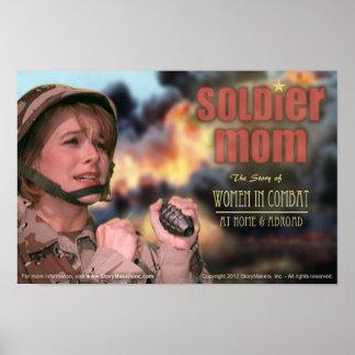 Het Poster van het Mamma van de militair (extra kl