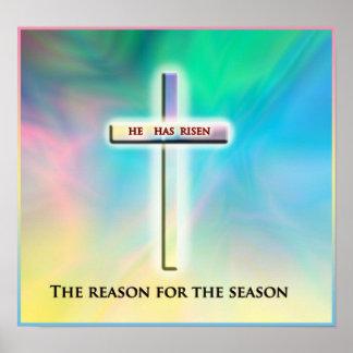Het Poster van het Seizoen van Pasen