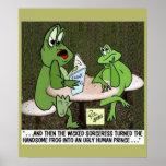 Het Poster van het Sprookje van de kikker