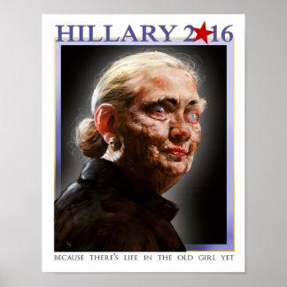 Het poster van Hillary 2016