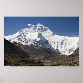 Het Poster van Himalayagebergte Nepal van het Kamp