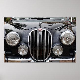 Het Poster van Jaguar mk 2