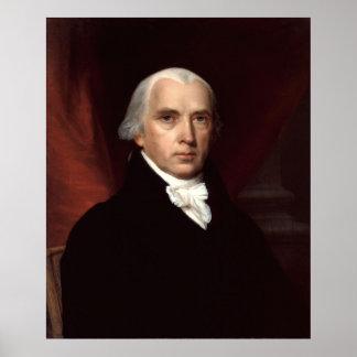 Het Poster van James Madison