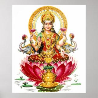 Het Poster van Lakshmi