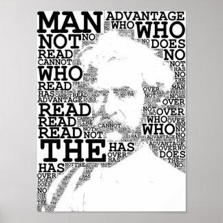 Het Poster van Mark Twain