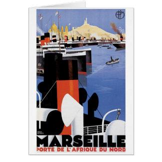 Het Poster van Marseille Kaart