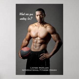 Het Poster van McClain van Linton: Wat wacht u op?