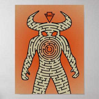Het Poster van Minotaur