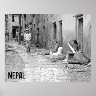 Het Poster van Nepal