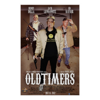 Het Poster van Oldtimers