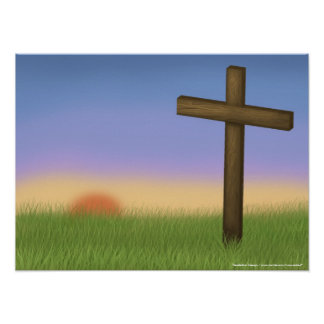 """Het Poster van Pasen """"van de Zonsopgang"""""""