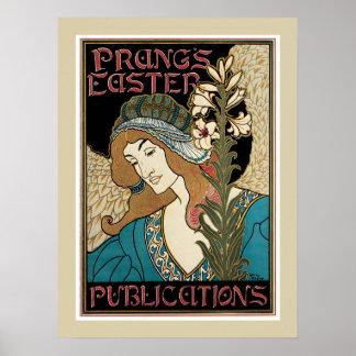 Het poster van Pasen van Prungs