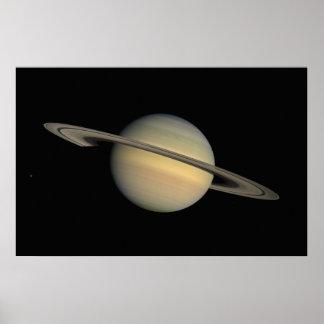 Het Poster van Saturn