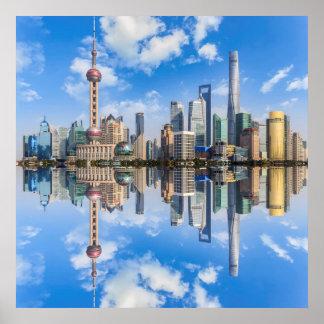 Het poster van Shanghai