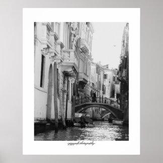 Het poster van Venetië