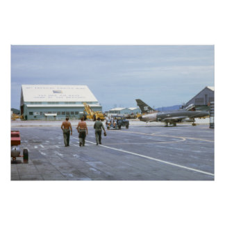 Het Poster van Vietnam 1969 van de Luchtmachtbasis