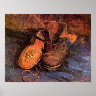 """Het Poster van Vincent van Gogh van een """"Paar Scho"""