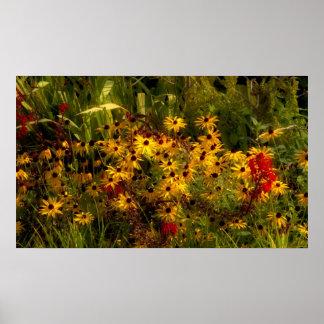 Het Poster van Wildflower