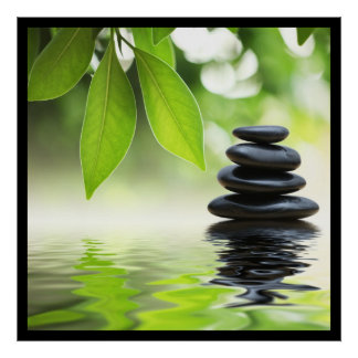 Het Poster van Zen