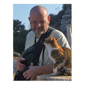 Het Praatje van de kat in Briefkaart Ephesus