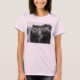 Het president Kennedy begroet de Vrijwilligers van T Shirt