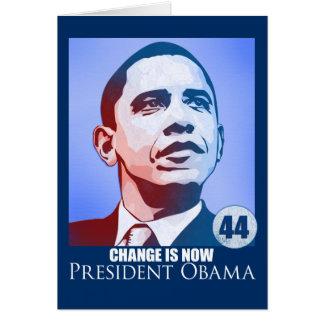 Het president Obama, Verandering is nu Kaart