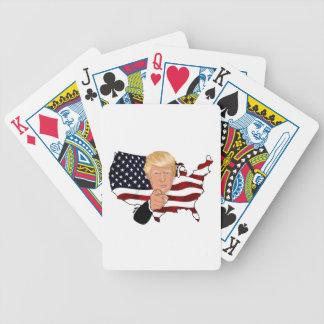 Het President van de troef Oom Sam Usa Amerika Poker Kaarten