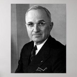 Het President van Harry S. Truman drieëndertigste Poster