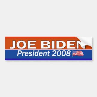 Het President van JOE BIDEN Bumpersticker