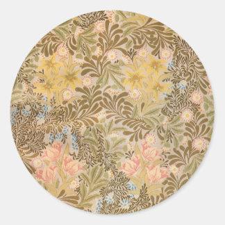 Het Prieel van William Morris - Sticker