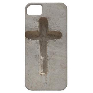 Het primitieve Christelijke Kruis past favoriete Barely There iPhone 5 Hoesje