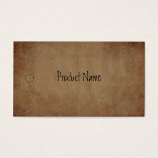 Het primitieve Document hangt Label Visitekaartjes