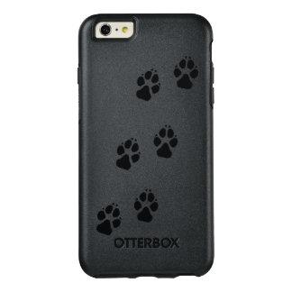 Het print van de poot van een hond OtterBox iPhone 6/6s plus hoesje