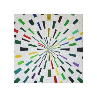 Het Print van het canvas - Moderne Theta -