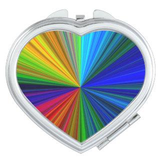 Het Prisma van de kleur Handtas Spiegeltje