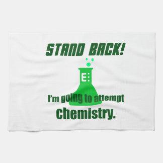 Het proberen van Chemie Theedoek