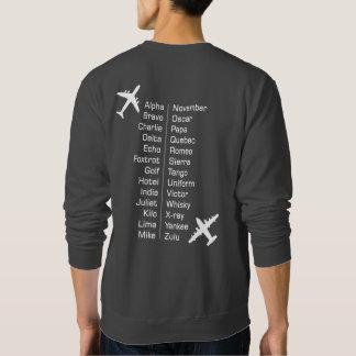 Het Proef Fonetische Alfabet van de luchtvaartlijn Trui