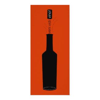 Het Proeven van de Wijn van Veni Vidi Vino van de Kaart