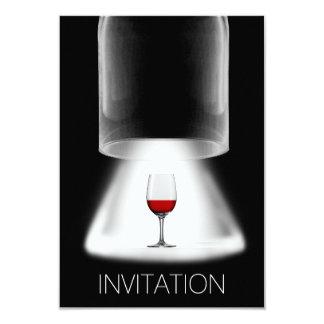 Het Proeven van de wijn Vip van de Cocktail party 8,9x12,7 Uitnodiging Kaart