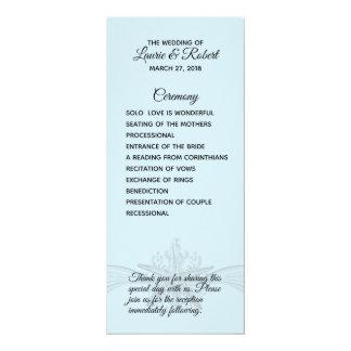 Het Programma van de Ceremonie van het Huwelijk