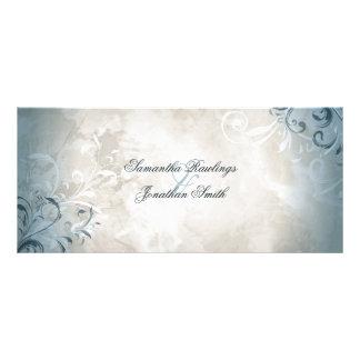 Het Programma van het huwelijk - Elegant Vintage 10,2x 22,9 Cm Reclamekaart