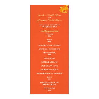 Het Programma van het Huwelijk van de tango van de