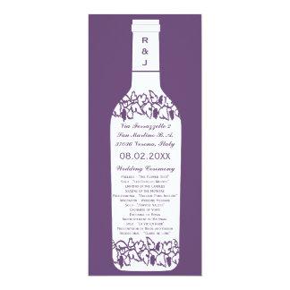 Het Programma van het Huwelijk van de wijngaard