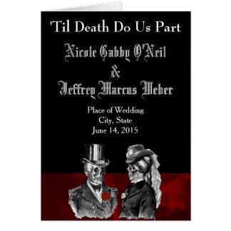 Het Programma van het Huwelijk van het skelet