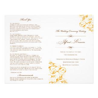 Het Programma van het Huwelijk van Roxanne Flyer 21,6 X 27,9 Cm