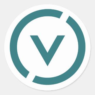 Het project van het Venus Ronde Sticker