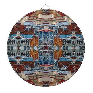 Het psychedelische Patroon van de Bouw Dartbord