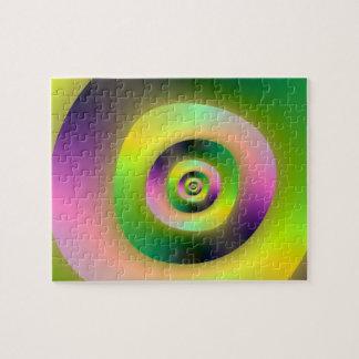 Het psychedelische Raadsel van Doughnuts Puzzels