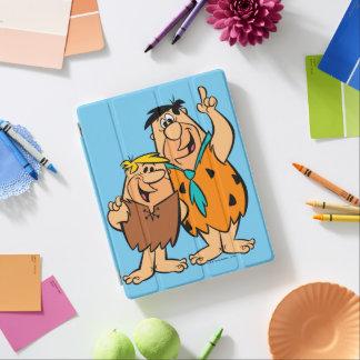 Het Puin en Fred Flintstone van Barney iPad Cover